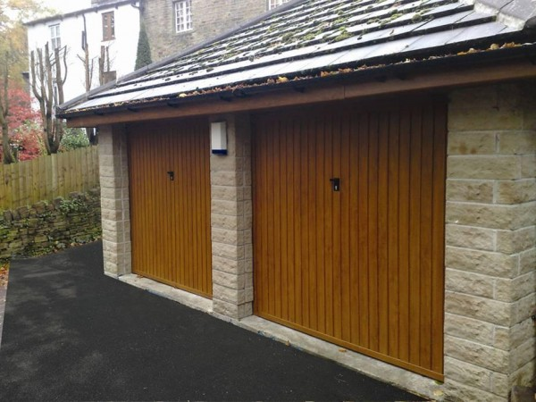 Steel garage doors manchester metal garage doors Garage door sizing