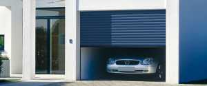 automated roller garage door